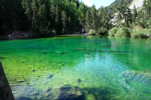 Monte thabor e lac vert da grange valle stretta sentiero for Acqua verde laghetto