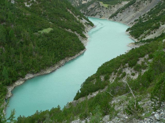Valle del gallo lago di livigno san giacomo di fraele for Grosso pesce di lago
