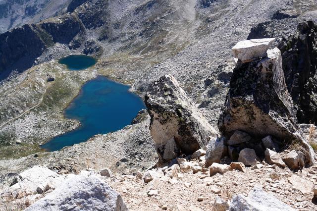 Testa sud di bresses tablasses laghi fremamorta prefouns for Schierandosi dalla roccia in casa